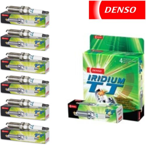 6 pcs Denso Iridium TT Spark Plugs 2006-2015 Lexus IS350 3.5L V6 Kit Set