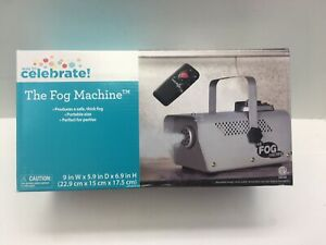 Sur De Soi Célébrations Brouillard Machine Avec Télécommande Neuf 400 W-afficher Le Titre D'origine Les Clients D'Abord