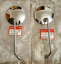 Honda Z50 ST70 S90 CT90 CB100 CL100 Mirrors Vintage Rare 88110-028-000 & 88120