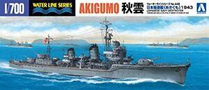 Aoshima-1-700-Waterline-Series-No-445-IJN-Destroyer-Akigumo-Plastic-Model-kit