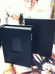(Two) Professional 5x7 Black photo Album Wedding,other occasions 30 photos