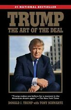 TRUMP : THE ART OF THE DEAL by Donald J. Trump and Tony Schwartz (2015, Paperback)