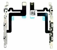 iPhone 6 Plus Side Volume Mute Silent Button Switch Flex Cable Metal Brackets