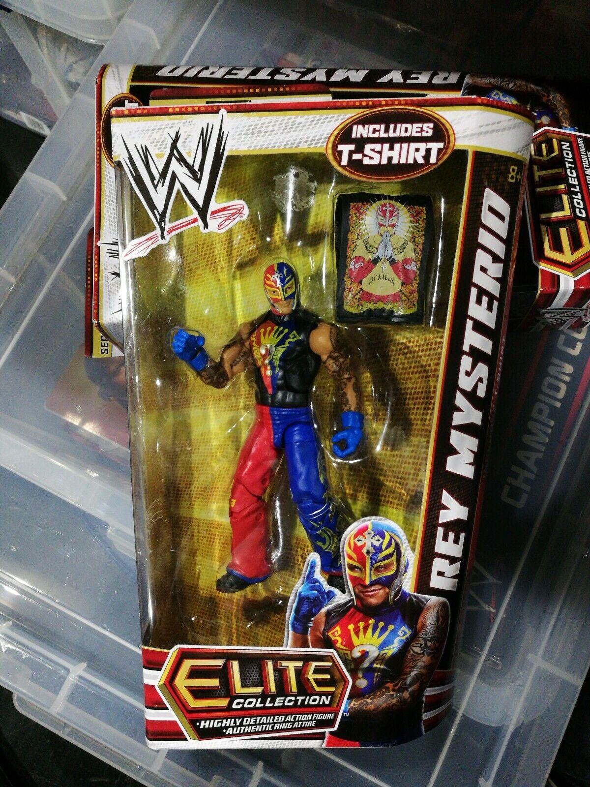 WWE Mattel Wirkung figure ELITE serie 21 REY MYSTERIO