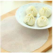 18cm Round Silicone Eco-friendly Steamer Pad Stuffed Bread Pad Dumplings Mat