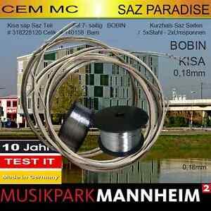 Stable Musikpark Mannheim Cem Mc Spg Teli Kisasap Prof Tél 7 Cordes Pour Kurzhals Baglama-afficher Le Titre D'origine 100% D'Origine