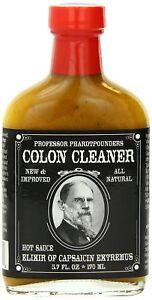 Professor-Phardtpounder-039-s-034-COLON-CLEANER-034-HOT-chilli-sauce-Novelty-Gift
