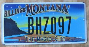 Details about MONTANA BILLINGS / MAGIC CITY specialty license plate 2015  BHZ097