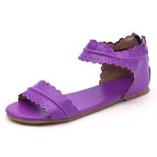 66fc3c9be item 5 Women Low Flat Heel Ladies Zip Back Gladiator Sandals Summer Holiday  Shoes Sizes -Women Low Flat Heel Ladies Zip Back Gladiator Sandals Summer  ...