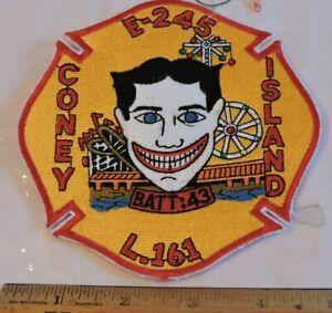 New York City NY Fire Dept Engine 245 Ladder 161 Patch