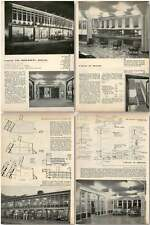 1959 Garage And Showrooms Clifton Bristol, Windmill And Lewis Design, Plans