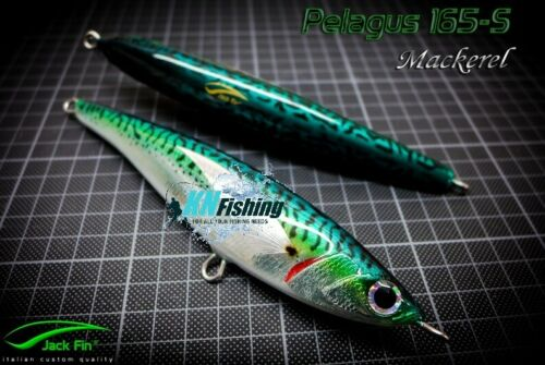 "JACK FIN /""PELAGUS 165S/"" Spinning Limited Edition Bluefin Tuna Kingfish Pelagic"