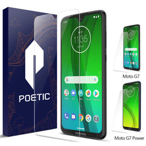 Moto G7 / G7 Plus / G7 Power Screen Protector,Poetic® Ultra