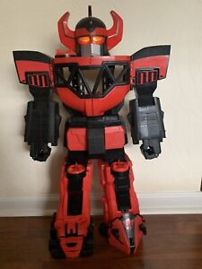 """Mighty Morphin' Power Rangers Megazord Imaginext 2015 Large 27"""" Robot Big Toy"""