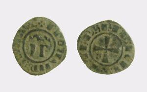 037) Messina Federico Ii Di Svevia (1197-1250) Denaro Ip ΩΩ Mir 137 Facile à Utiliser