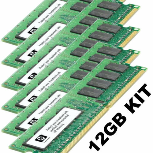 Dell SC1425 upgrade kit 12GB 6x 2GB Single Rank PC23200R & Dual Rank PC23200
