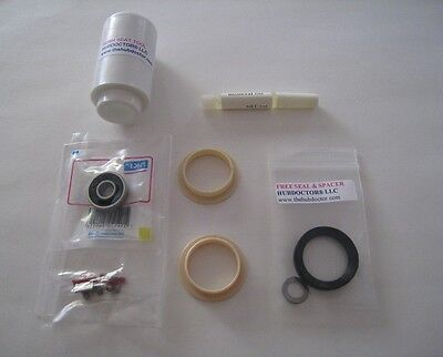 """2 QTY .000 STANDARD HUBDOCTOR /""""SUPER/"""" REPLACEMENT BUSHINGS FOR MAVIC FREEHUBS"""