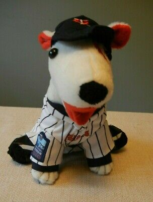 2010 Inaugural Season Minnesota Twins Baseball Target Field Bullseye Plush Dog