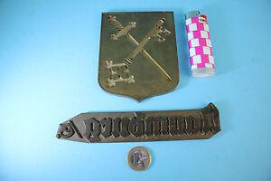 Stempel Gewidmet Seltenes PrÄge Druckwerkzeug Wappen Naumburg Antiquitäten & Kunst
