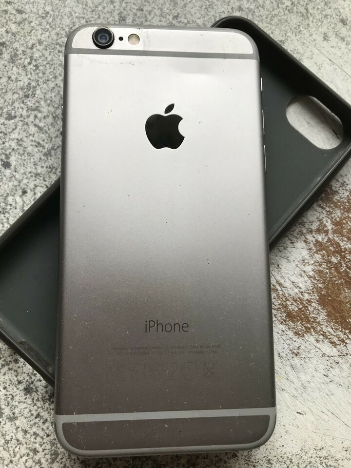 iPhone 6, 128 GB, aluminium