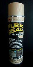 Flex Seal Almond Liquid Rubber Spray Sealant Coating 14 Oz