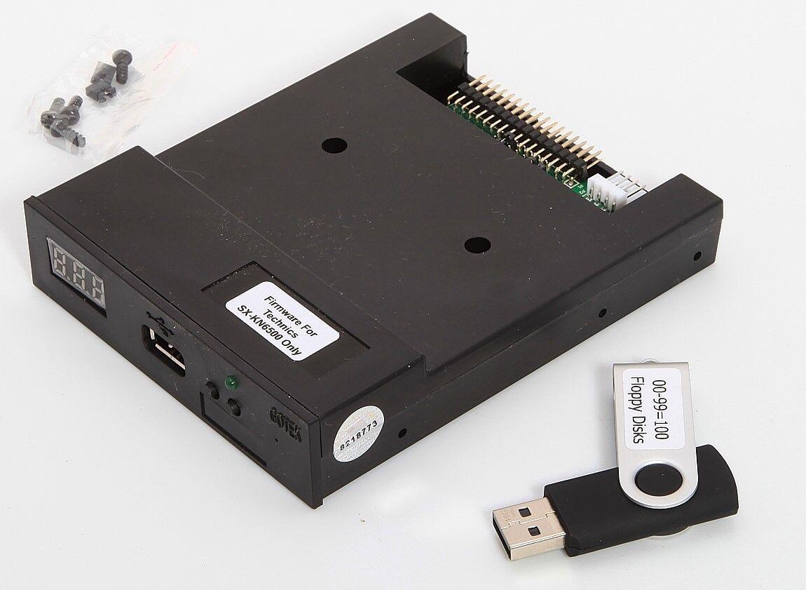 Nuevo Flexible Conducir USB Emulador para Technics SX KN-6500 Sintetizador Musik