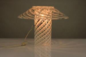 VTG-Tisch-Lampe-Murano-Glas-Vetreria-Artistica-Gambaro-amp-Poggi-Leuchte-Lamp