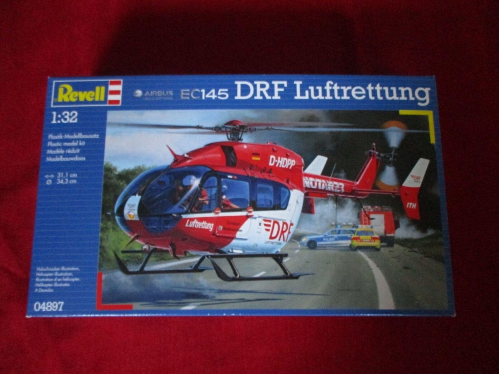 REVELL® 04897 1 32 Eurocopter EC145 DRF Luftrettung NEU OVP  | Hochwertige Produkte