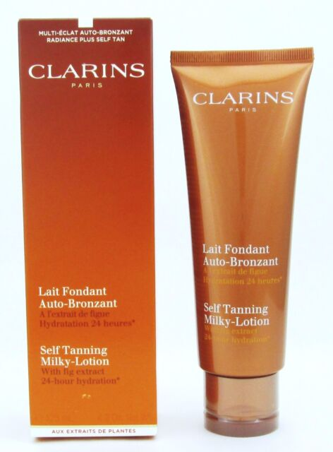 clarins milky tan lotion
