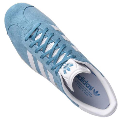 Adidas Scarpe Da Bianco Donna Casual Ragazza Ginnastica Blu Gazelle Low Top xr7xwBC4