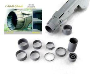 Metallic-Details-MDR4825-1-48-MiG-23-Jet-nozzle-Trumpeter-resin-parts