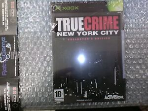 TRUE-CRIMES-NEW-YORK-CITY-COLLECTOR-EDITON-XBOX-PAL-ITA-NUOVO
