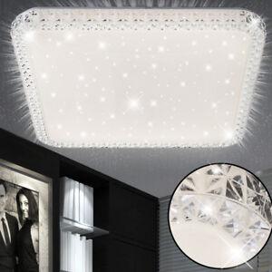 Luxe-DEL-Cristal-Plafonnier-lampe-chambre-ciel-etoile-effet-eclairage