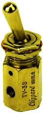 Tv 3s Electric Solenoid Air Valve Knob Toggle Value Switch Pneumatic Mechanical