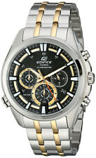 Casio Men's Neon Illuminator Two-Tone Stainless Steel Watch EFR-537SG-1AVCF