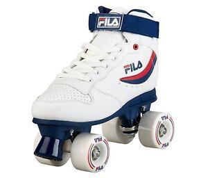 747123c2b206 Das Bild wird geladen FILA-Roller-Skates-034-Ace-034-white-blue-