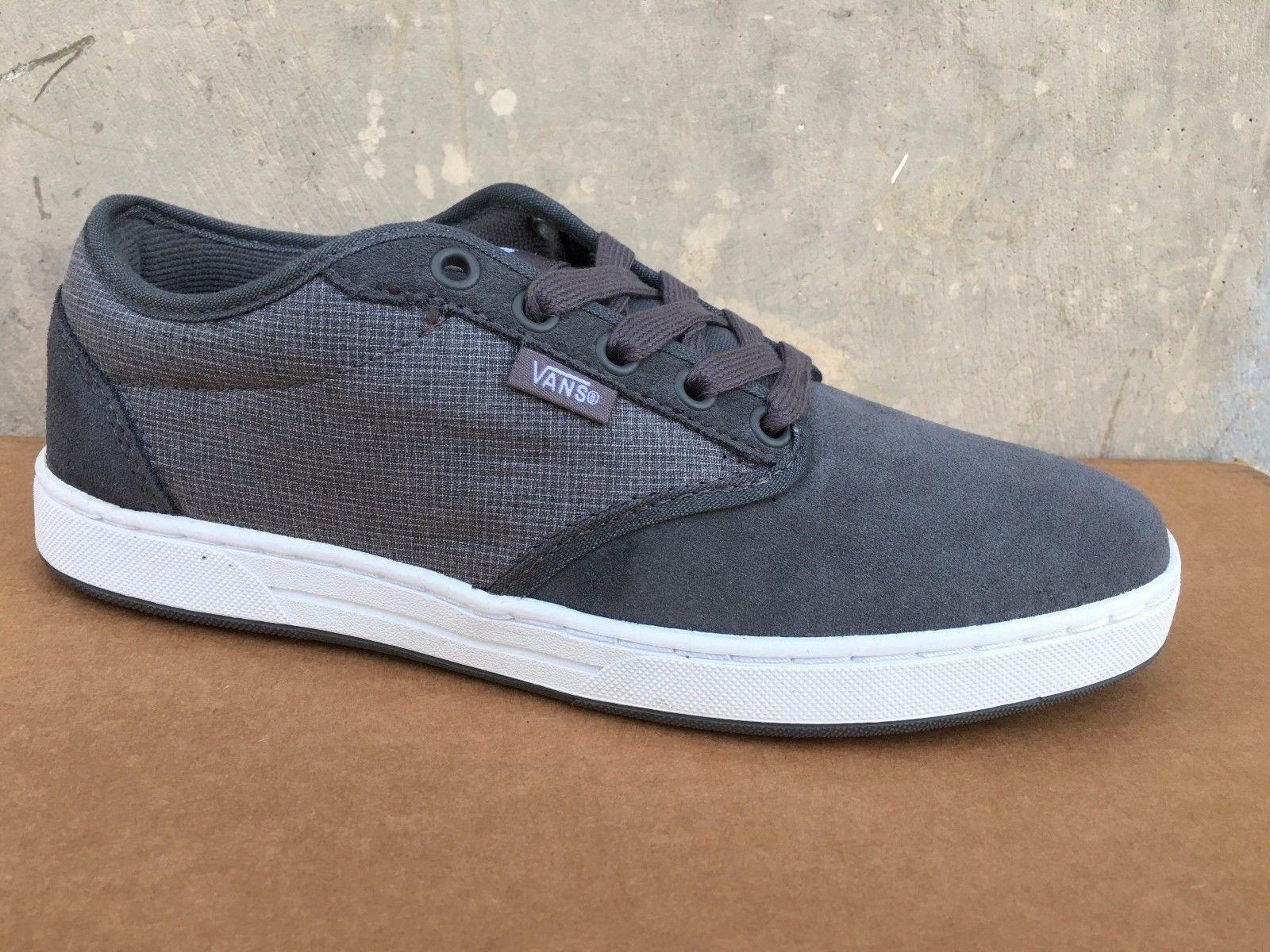 VANS Preston Grey White Casual shoes MEN'S 6.5 WOMEN'S 8