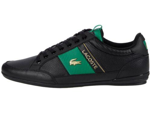 LACOSTE Chaymon 0120 1 Men/'s Casual Leather Fashion Shoes Sneakers Black White