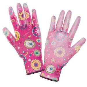 Damen-Gartenhandschuh-Gartenhandschuhe-Schutzhandschuhe-Handschuhe-Rosa-NEU