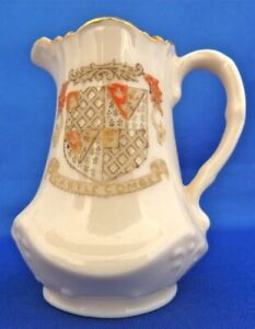 Crested-China-TALBOT-CHINA-039-Castle-Coombe-039-Cream-Jug-No-415