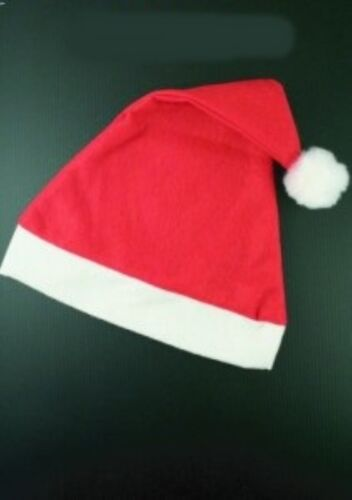 Santa Hats Adult Unisex Felt Christmas Party Costume Bulk Quantity Wholesale
