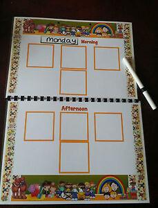 This weeks colour is...Display communication EYFS childminder Nursery SEN