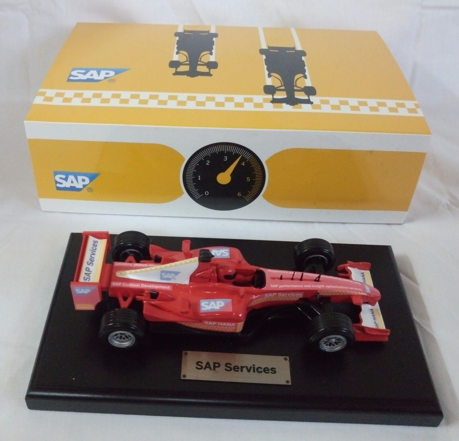 Miniature Car SAP Formula F1