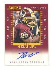2013 Score Inscriptions AUTOGRAPH Roy Helu Nebraska/Washington Redskins