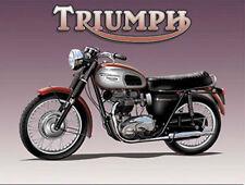 Bonneville Motorcycle Vintage British Motorbike Old Bike Novelty Fridge Magnet