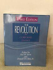 The Revolution in Corporate Finance by Joel M. Stern (1998) PB