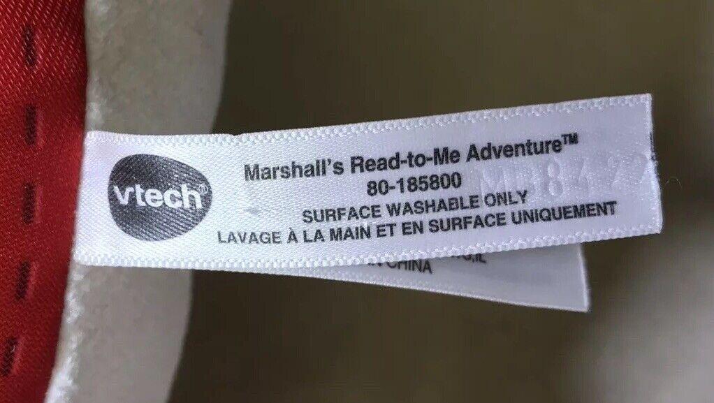 VTech PAW Patrol Marshalls Read-to-Me Adventure 80-185800