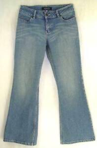 Distressed-MID-Rise-Wide-FLARE-Curvy-COTTON-Spandex-Denim-LONDON-Jeans-8