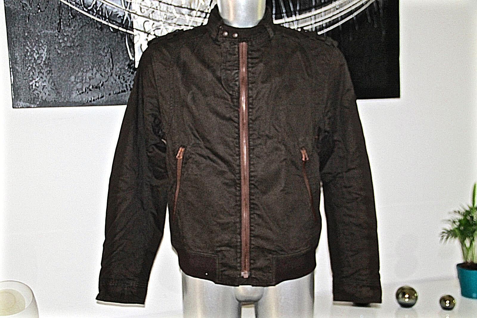 HUGO BOSS oswald veste blouson militaire chocolat taille 50 (L) excellent état