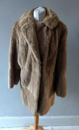 14 in pelliccia Taglia Donna Retro Vintage Donna Spenceley vera 16 Bellissima giacca zTvwqYxwH